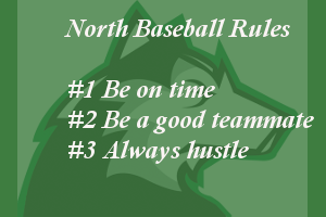 North Baseball Rules
